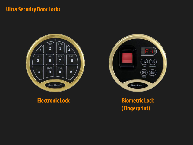 ... UL Rated Electronic Lock or Biometric Lock positioned up to 7 feet away from door ... & ProSteel | Ultra Security Door Pezcame.Com